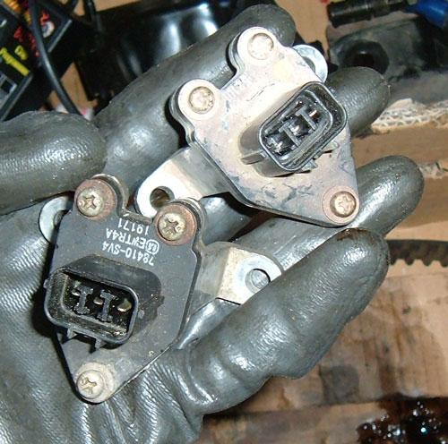 D16Z6 Head, Misc D-series Parts, BURN1, Auto Starters